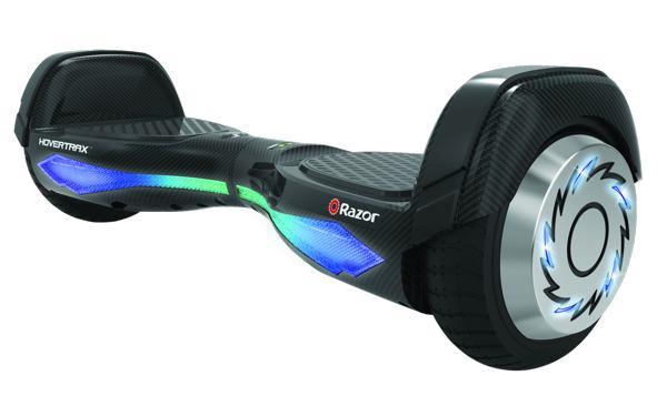 razor hoverboard nero