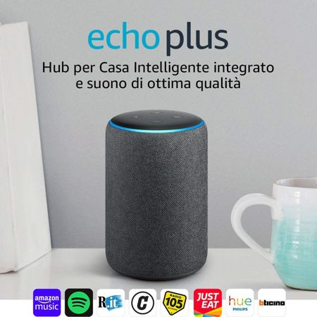 amazon echo plus modello nero