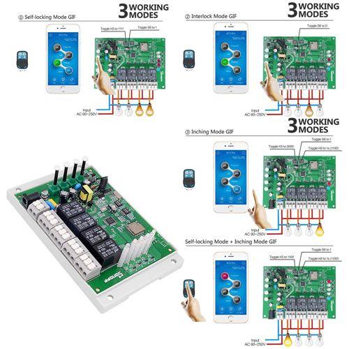 caratteristiche sonoff 4ch pro r2 wifi