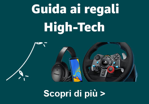 guida regali high tech amazon