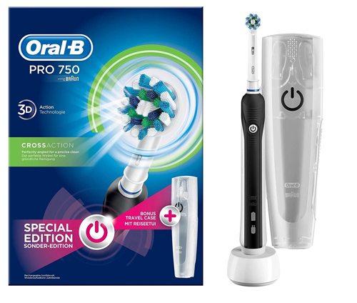 oral b pro 750 spazzolino elettrico
