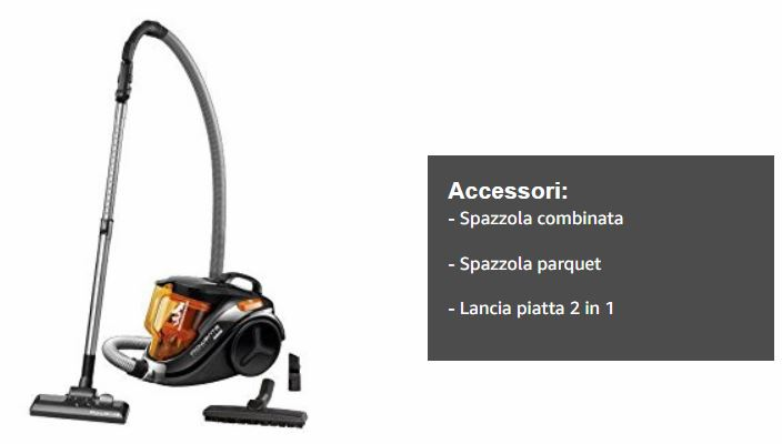 accessori aspirapolvere rowenta RO3753EA