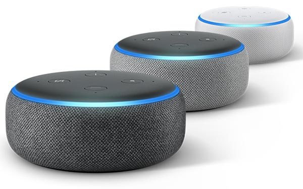 design amazon echo dot