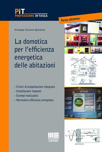 domotica efficienza energetica abitazioni libro