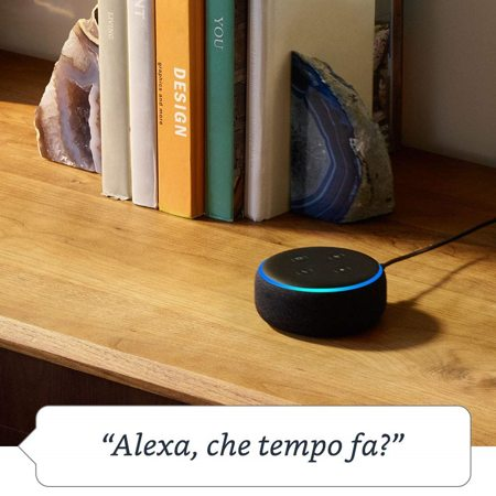 funzionalità amazon echo dot