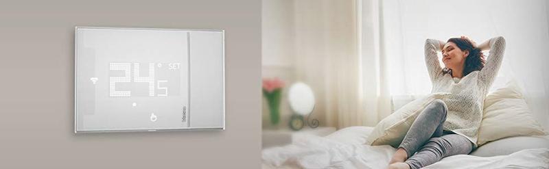 assistente vocale su termostato intelligente