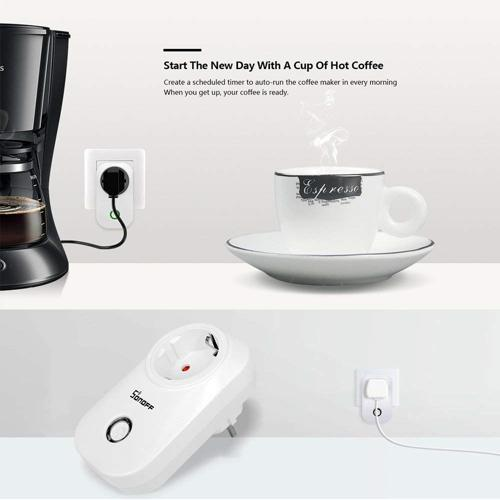funzionalità sonoff s20 presa elettrica wifi