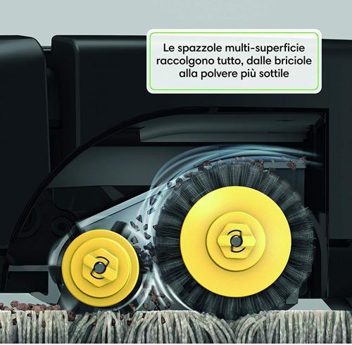 sistema pulizia irobot roomba 671