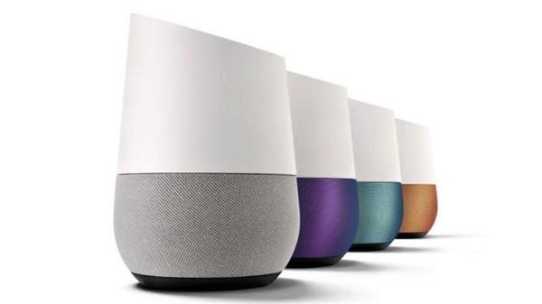 design e materiali di google home