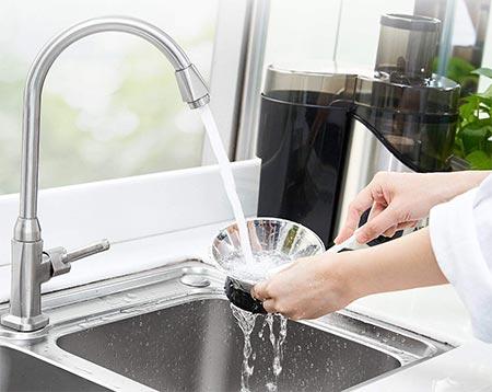pulire un estrattore di succo