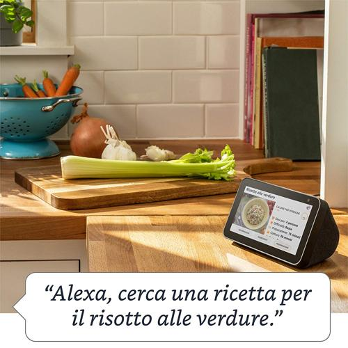 amazon echo show 5 come funziona