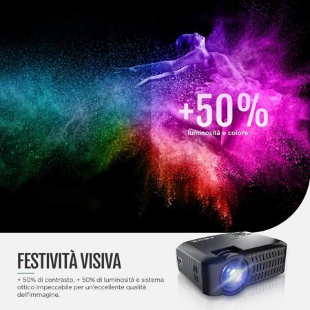 tecnologia di illuminazione di un videoproiettore portatile
