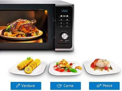 facilità d'uso del forno a microonde
