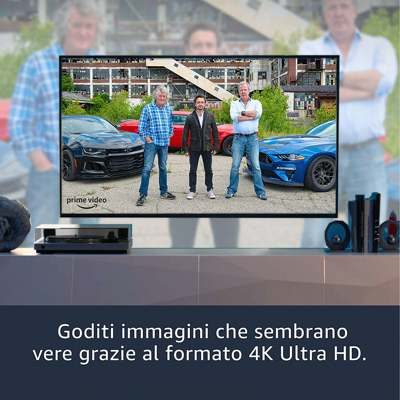 funzionalità amazon fire stick tv 4k