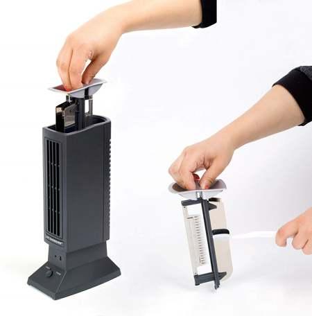 cambio filtro su purificatore aria
