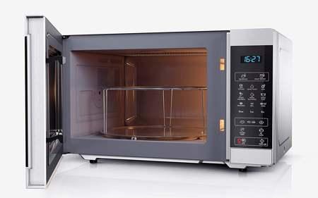 modalità di cottura di un forno a microonde