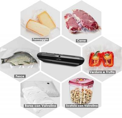 potenza macchina sottovuoto per alimenti