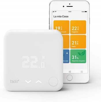 esempio di un termostato smart