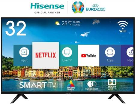 hisense H32BE5500 smart tv 32 pollici