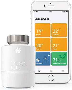 valvola termostatica smart Tado