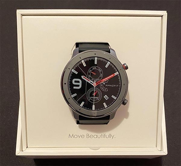 unboxing dello smartwatch gtr amazfit lite