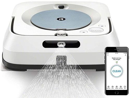 esempio robot lavapavimenti