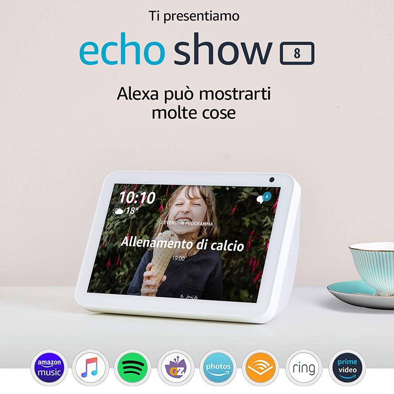 Foto ufficiale Amazon Echo Show 8