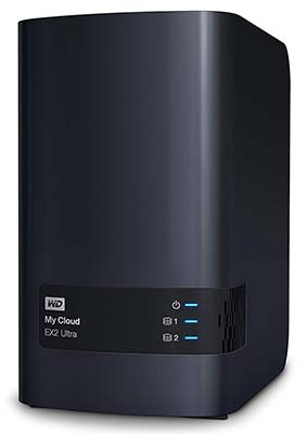 WD My Cloud EX2 Ultra Network