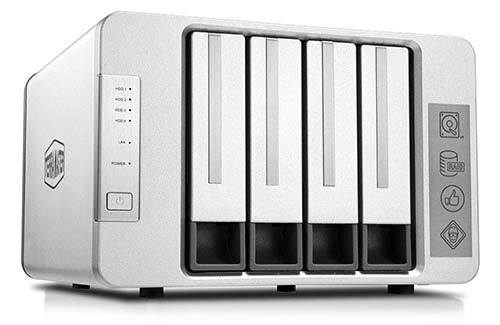 TERRAMASTER F4-210 4-bay Nas Quad Core 2GB RAM