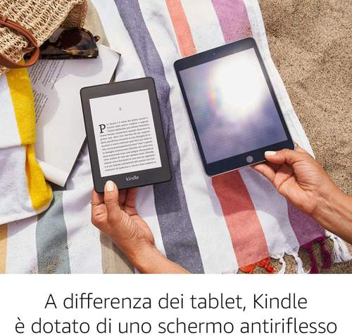 Confronto Kindle Paperwhite e Tablet