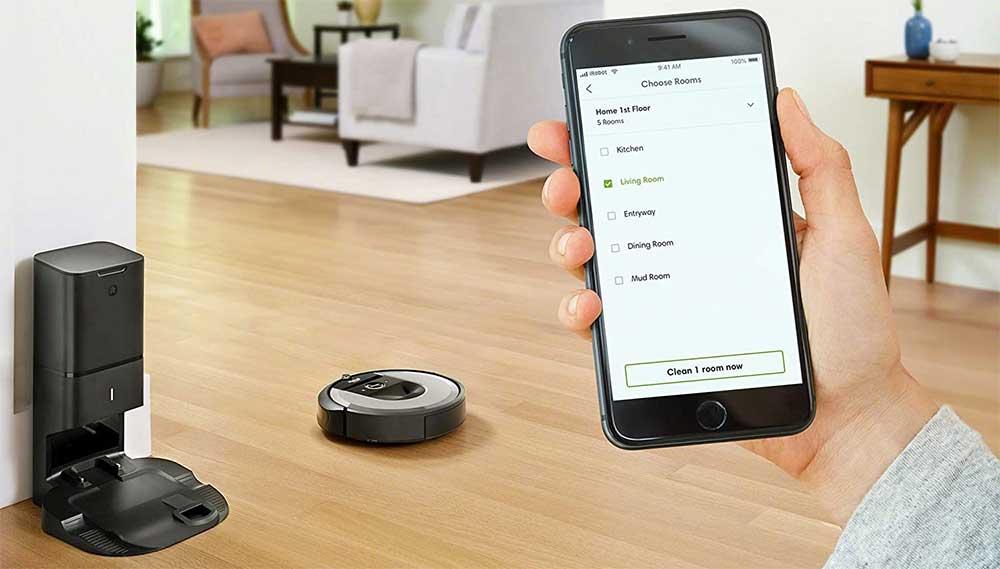 Controllo remoto del Roomba