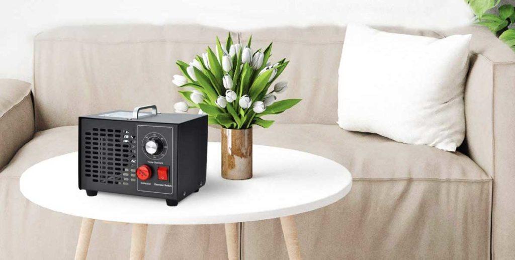 Un generatore di ozono domestico