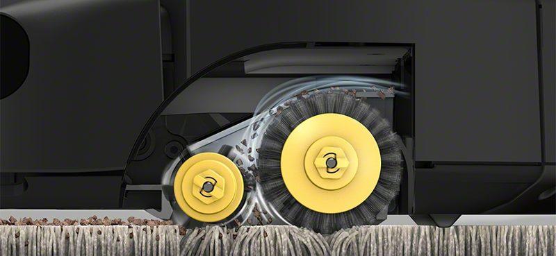 Aspirazione di un Roomba