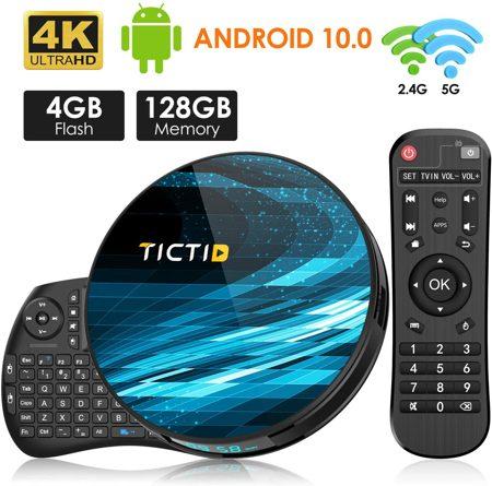 TICTID T8 MAX Android 10.0 TV Box