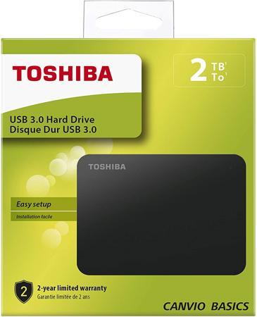 Esempio di un hard disk esterno