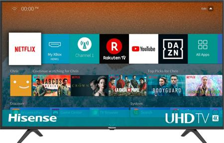 smart tv hisense H50BE7000