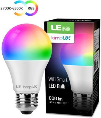 LE Alexa Lampadina LED Intelligente E27