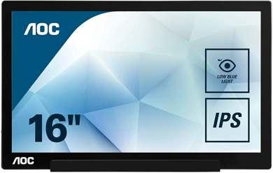 AOC 1601FWUX Monitor Portatile