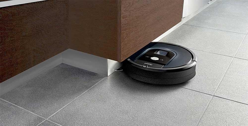 Aspirazione del Roomba 981