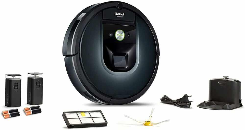 La gamma di accessori dell'iRobot Roomba 981