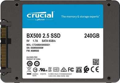 """Esempio di un SSD da 2.5"""""""