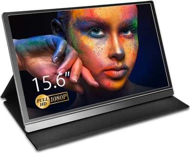 Aztine - Monitor portatile da 15.6 pollici