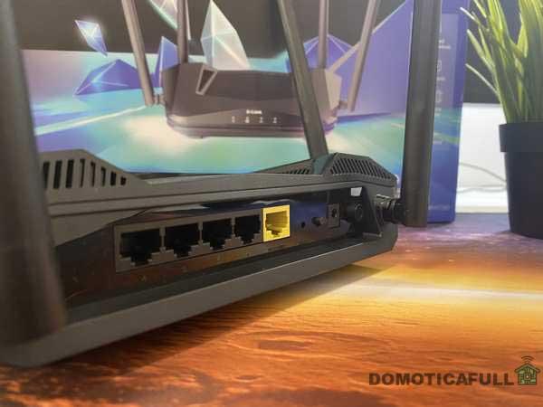 Retro del D-link AX1500