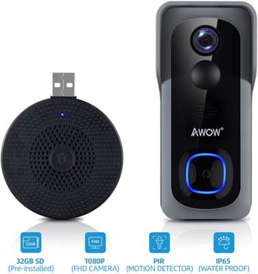 AWOW Videocitofono Wifi senza fili