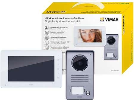 Vimar K40910 Kit Videocitofono monofamiliare