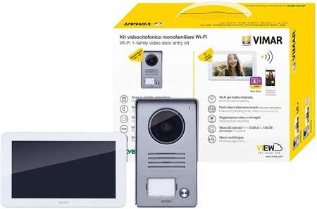 Vimar K40945 Kit videocitofono smart con monitor touch screen