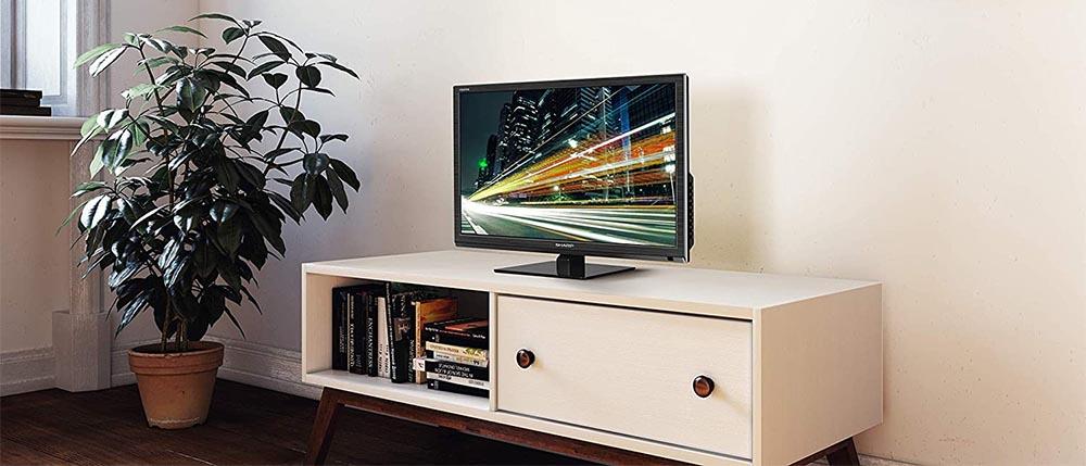 Esempio di una TV da 24 pollici