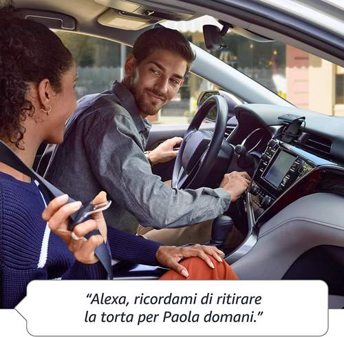 Funzionamento di Amazon Echo Auto