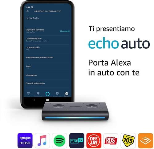 Presentazione Amazon Echo Auto
