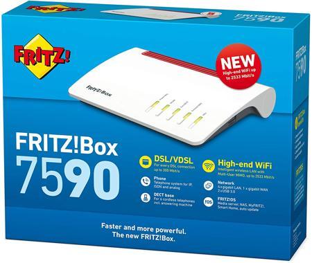 Confezione del Fritz!Box 7590